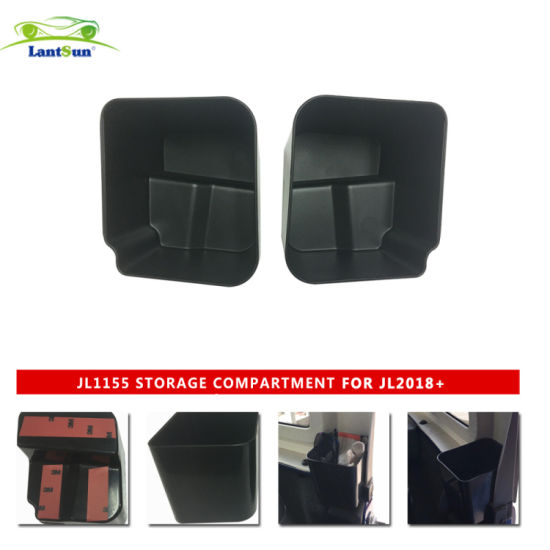 Jl1155 for Wrangler Rear Seat Side Storage Box ABS Material pictures & photos