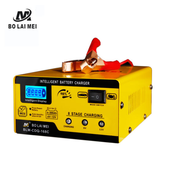6V 12V Intelligent Pulse Repair Auto Battery Charger