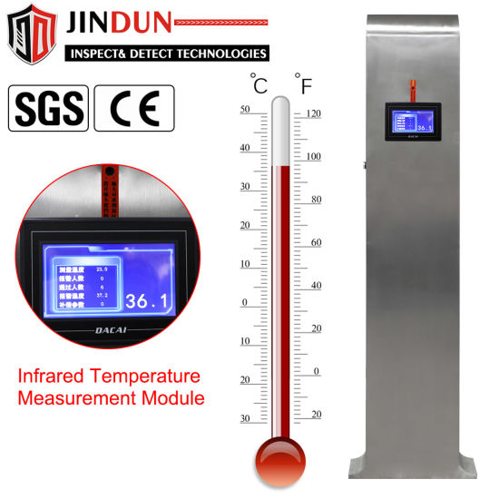 Stand-up Infrared Body Temperature Auto Scanner