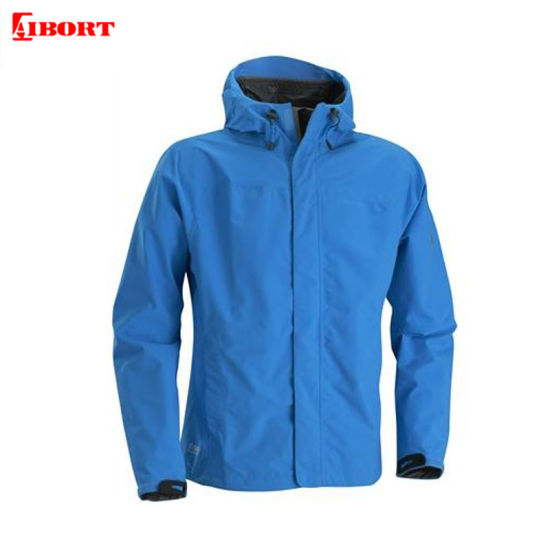Aibort Men's 100% Polyester PU Coating Cool Fashion Jacket Waterproof
