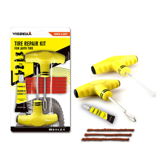 Best Selling 2 Minutes Fix Tools Tubeless Tire Repair Kit for Auto Car