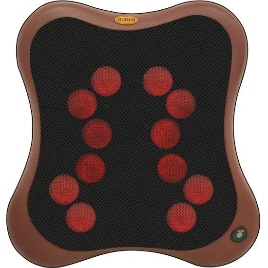 2021 Best Electric Shiat Back Lumbar Massage Cushion with Heat Shiatsu Body Back Lumbar Waist Massager Car Seat/Back Massager