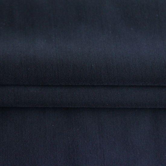 Customized Double Face Elastic High-Stretch Ripstop 75%Nylon 25%Spandex Plain Weft Knitting Interlock Fabric for Apparel/Sportswear/Yoga Wear/Shape Wear