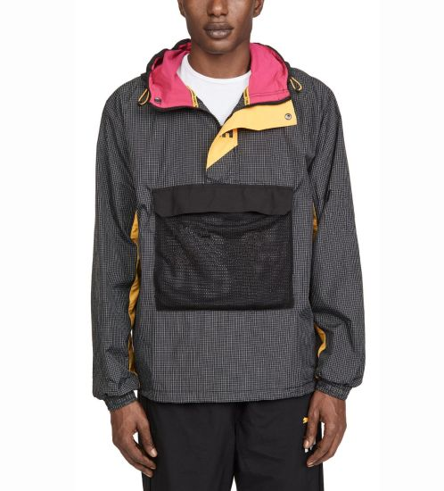 Wholesale Custom Fashion Mens Jackets Half-Zip Multi Color Pullover Jackets