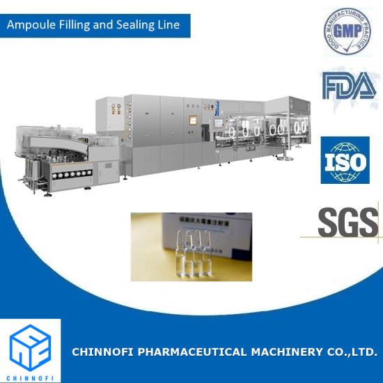 Ampoule Vial Washing- Drying& Sterilization Filling and Sealing Production Line