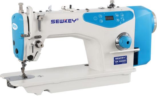 Sk9500d Direct Drive High Speed Lockstitch Sewing Machine