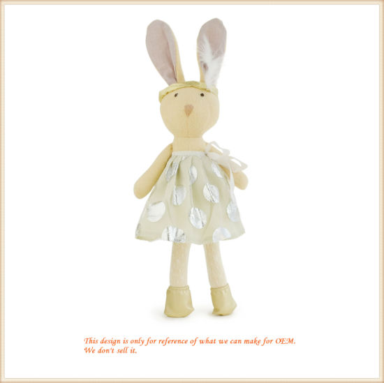 Soft Lovely Bunny Toy for Babies Plush Baby Product