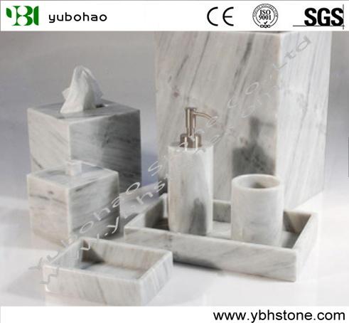 Marble home decoration for bathroom set