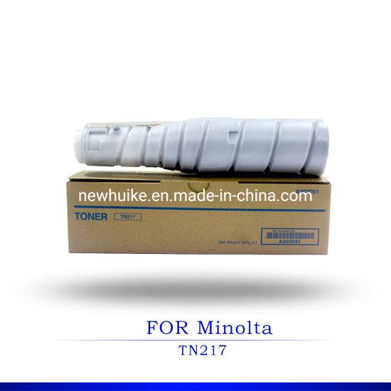 for Konica Minolta Tn217/Tn414/Tn415/Tn320 Compatible Japan Toner Cartridge for Copier Bizhub 42/36/223/283/363/7828/423