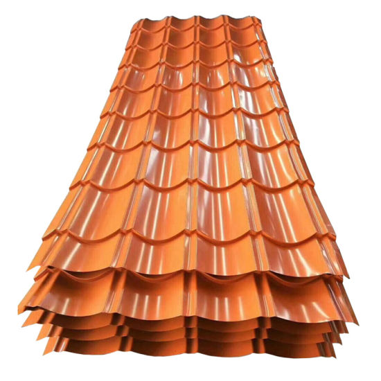 PPGI Corrugated Ral Metal Building Materials Steel Roofing Sheet