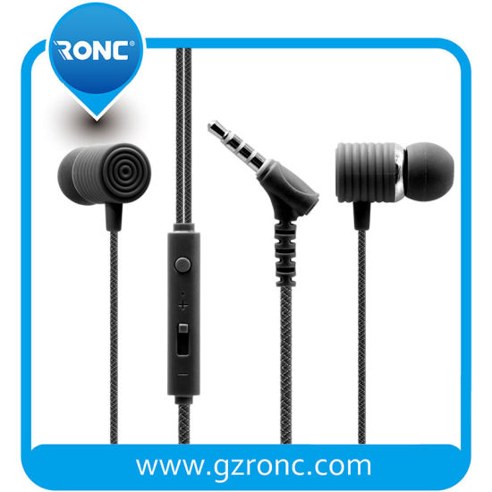 Noise Isolating Headphones Earphones with Pure Sound and Powerful Bass for Samsung Smartphones pictures & photos