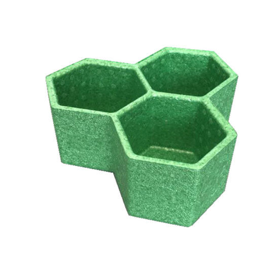 Exquisite Biodegradable Non-Toxic 100% Recyclable EPP Flowerpot