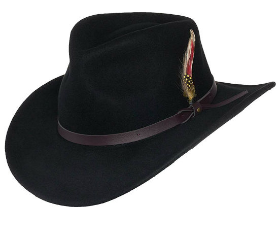 BSCI Audit Faux-Leather Durable Crushable Wool Jb Mauney Cowboy Hat c0a118fe27dd