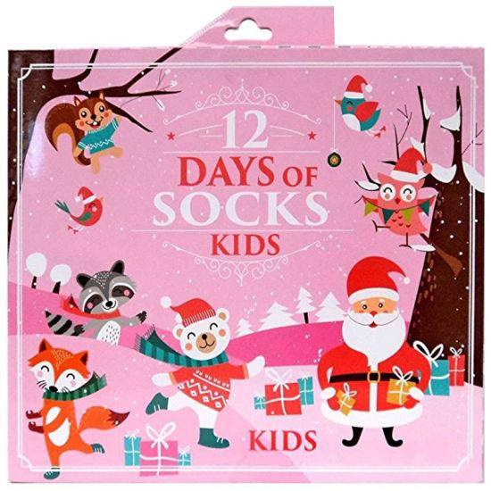 custom novelty holiday 12 days of christmas socks advent calendar