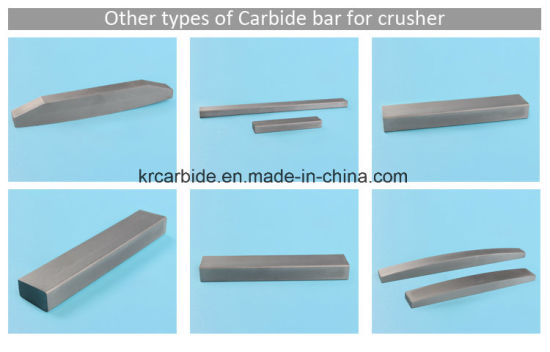 China India Best Selling Carbide Tips for VSI Crushing Mountain Rock