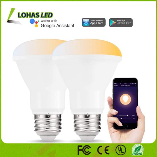 Tunable White 8W E26 Br20 WiFi Smart LED Light Bulb pictures & photos