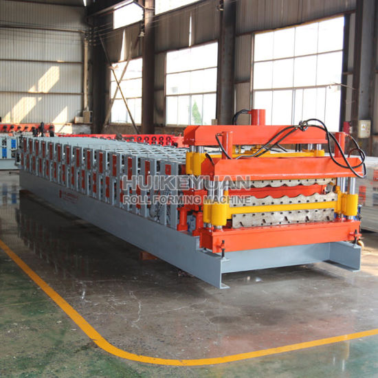 Factory Price 828 Glazed Galvanized Metal Roof Tile Steel Roll Forming Machine