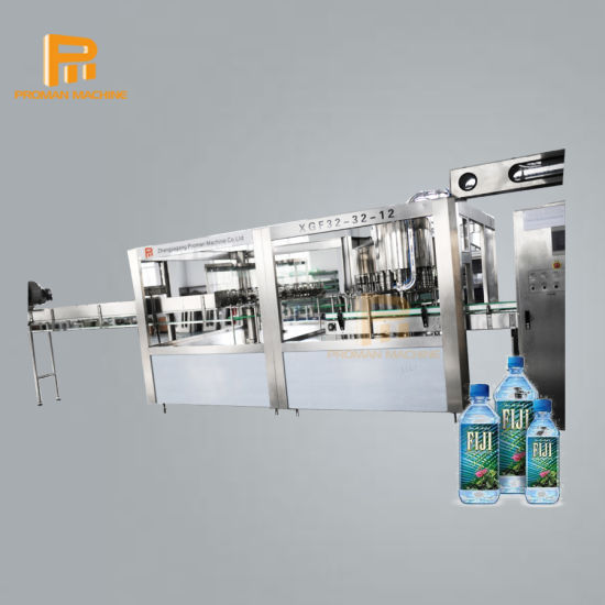 Touch Screen Control Complete Bottled Water Production Lines with Reverse Osmosis System