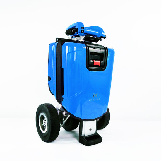 Competitive Price 250W Outdoor Portable Easy Ride Low Speed 3 Wheel Disabled Electric Scooter pictures & photos