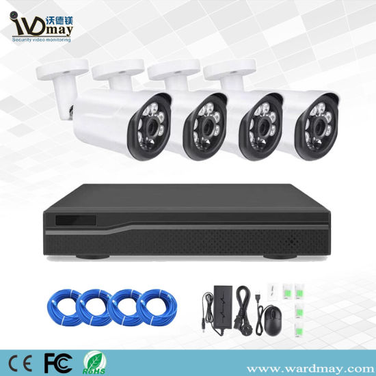 Cheap 2MP Home Surveillance Web IP Camera Poe NVR Kits CCTV Security Alarm Systems pictures & photos