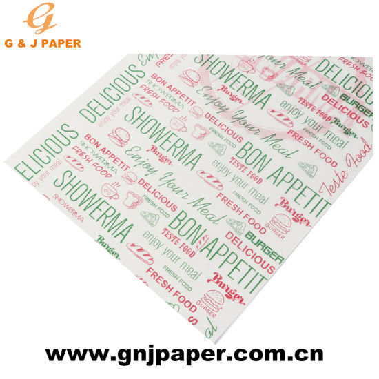 graphic about Printable Wood Paper referred to as 100% Wooden Pulp Printable Greaseproof Coloured Foodstuff Wrapping Paper