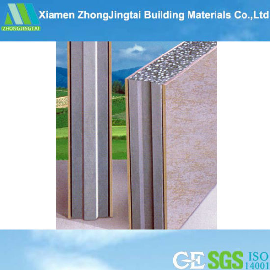 Sound/Acoustic Insulation Prefab EPS Wall Panel for  Interior/Exterior/Partition Wall Panels