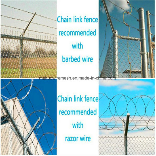 China Chain Link Fence Panels Lowes (MT-CL014) - China Chain Link