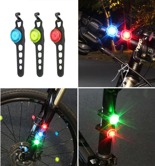 LED FLASHLIGHT MTB ROAD BICYCLE BIKE REAR TAIL LIGHT USB RECHARGEABLE LAMP FIRM
