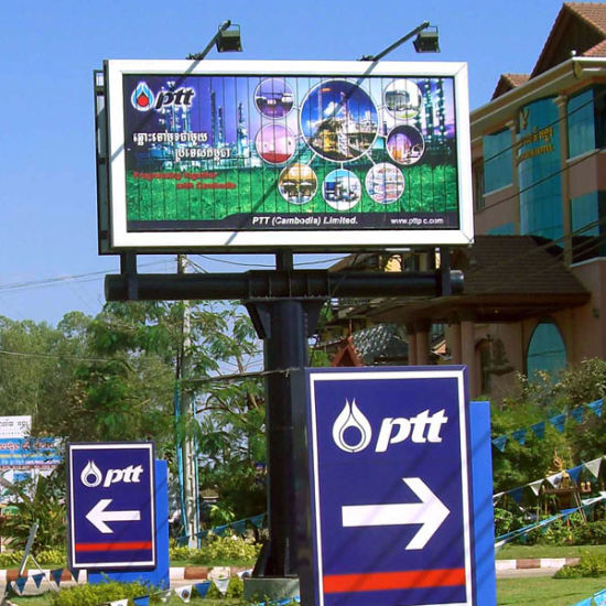 China Ooh Ads Customized Tri-Vision Billboard Bulletins for