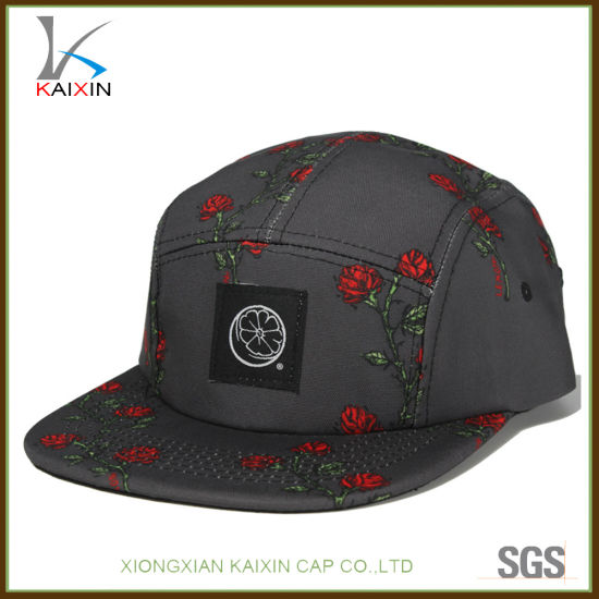 d0e1fd7045b30 China Custom 5 Panel Hats Snapback Caps Wholesale - China 5 Panel ...