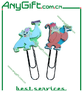 Soft PVC Bookmark with Customized Size and Logo pictures & photos