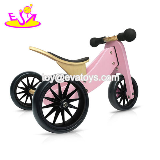 2018 New Fashion 2 in 1 Wooden Balance Trikes for Kids W16A032