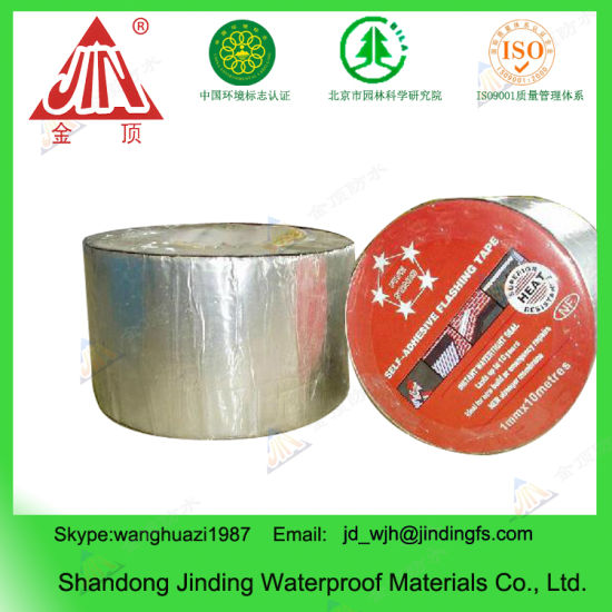 2mm Bitumen Sealing Tape, Flashing Wrapping Tape for Roofing and Balcony pictures & photos