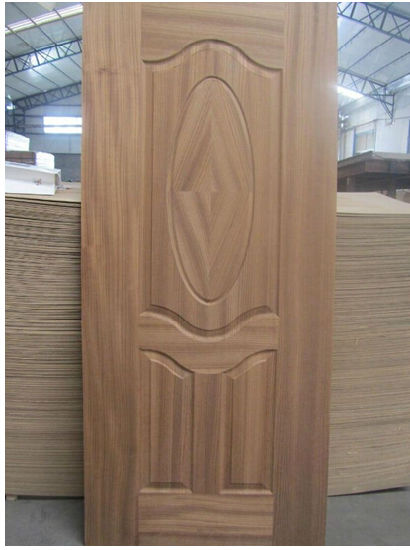 Moulded Door Skin - Wooden Color pictures & photos
