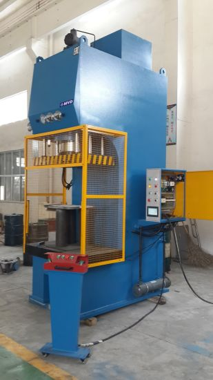 C Frame Licensed Hydraulic Oil Press for Embossing/Drawing/Shaping/Forming with Stroke/Pressure/Dwell Time/Die Height Adjustable C Frame Hydraulic Press pictures & photos