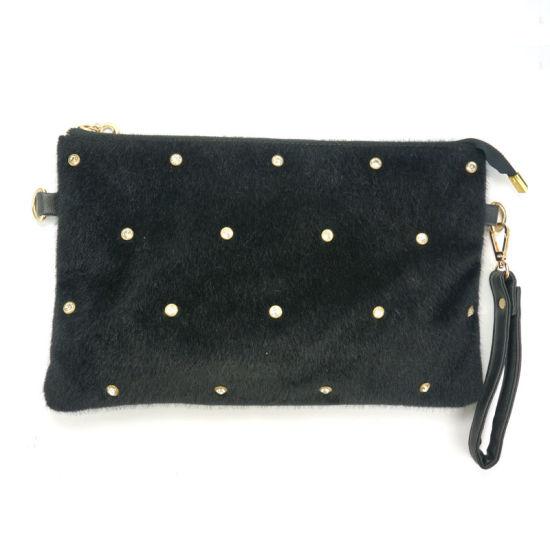 80c92dd05655 China New Designer Fashion Wholesale Fur Evening Clutch Bags - China ...