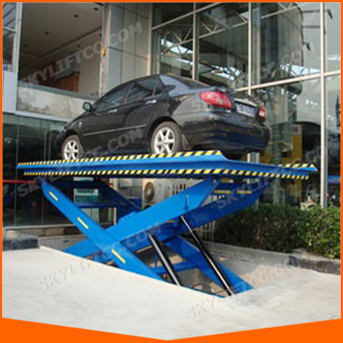 Hydraulic Electric Scissor Garage Car Lift pictures & photos