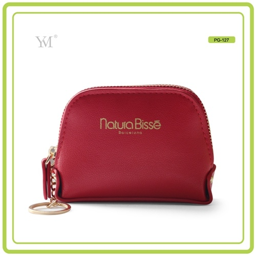 New Design Travel Fashion Custom PVC Leather Cosmetic Makeup Bag