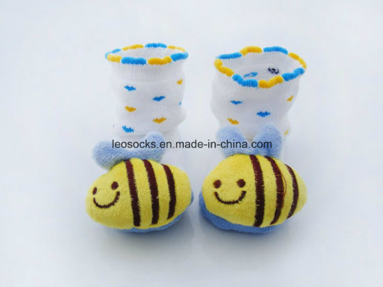 Hot Sale 3D Cotton Baby Socks pictures & photos