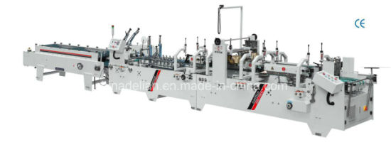 Automatic Pre-Fold and Crash Lock Bottom Folder Gluer Machine pictures & photos