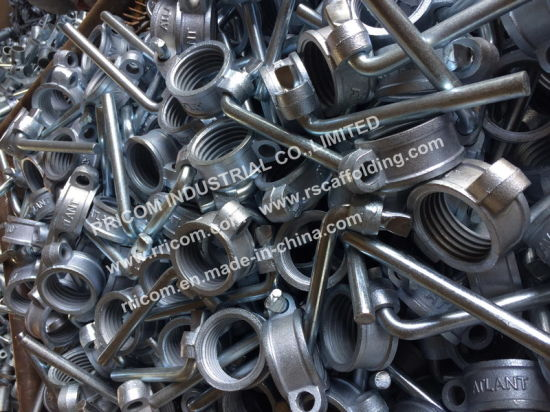 Galvanized Steel Arrow Prop Bolts and Nuts for Scaffolding Prop pictures & photos