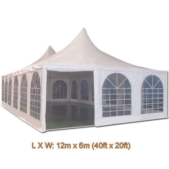 6X12 M White Color High Quality Cone Type Party Tent Wedding Tent  sc 1 st  Qingdao Haylite Machinery Co. Ltd. & China 6X12 M White Color High Quality Cone Type Party Tent Wedding ...