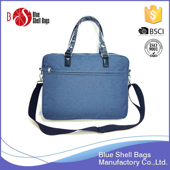 Wholesale Charmbray Polyester Fabric Business Computer Bags pictures & photos