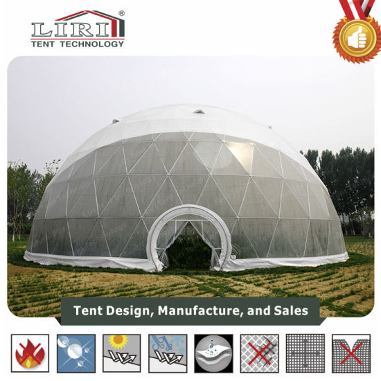 Transparent Large Trade Show Exhibition Geodesic Dome Tent for Sale pictures & photos
