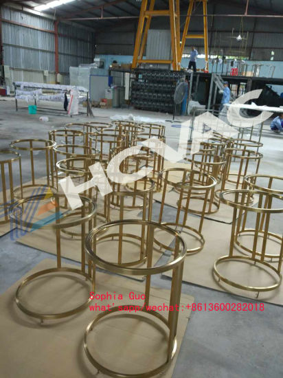 China Gold/Rosegold/Black Color Furniture PVD Ion Plating