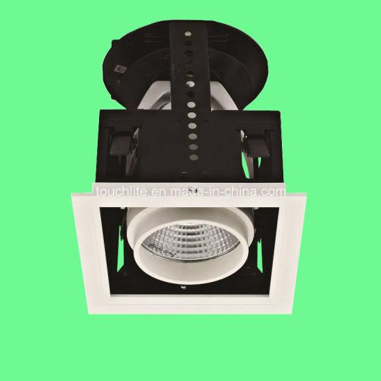 Adjutable Rotation COB Grille Light (TGH3401)