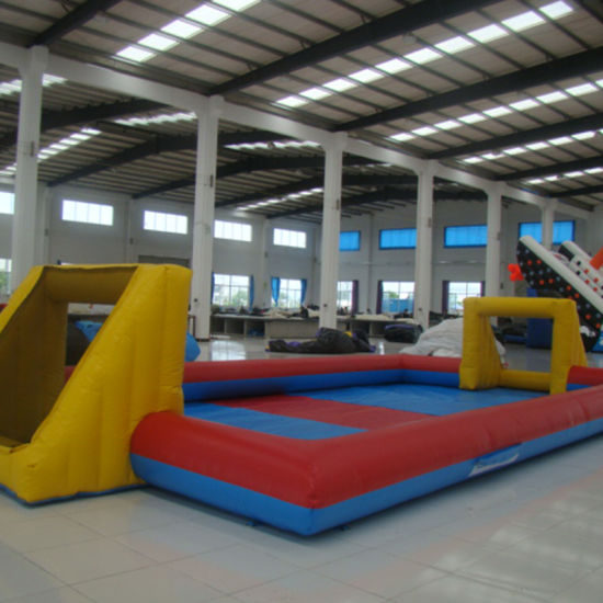 Inflatable Bouncy Castle with Obstacle