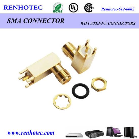3G 4G SMA Connector SMA AMP Connector Auto Connector