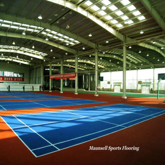 Cheap Indoor PVC Sports Flooring for Badminton Courts 2018 Hot Sale pictures & photos