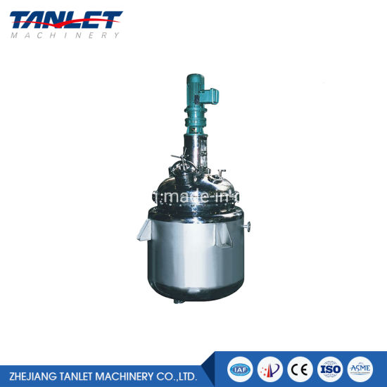Qualified Pharmaceutical Liquid Mixing / Preparation Reactor Tank